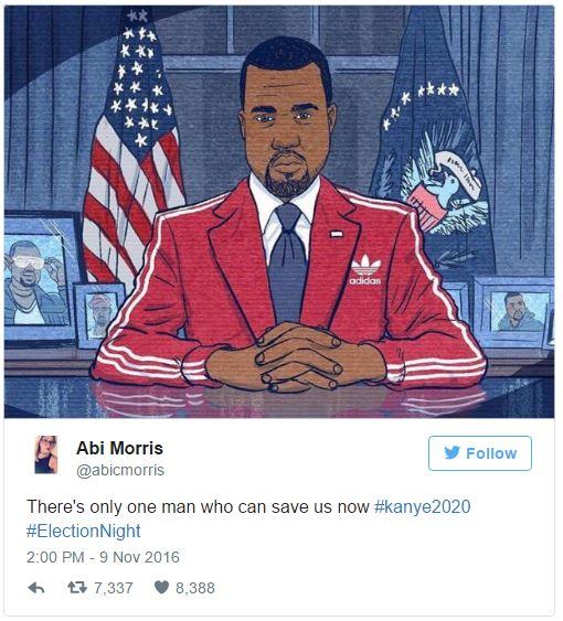 Dân mạng thế giới bất ngờ ủng hộ Kanye West tranh cử Tổng thống Mỹ - Ảnh 2.
