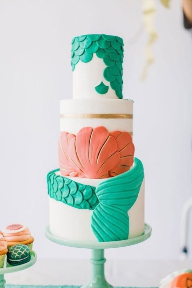 16 chiếc bánh cưới đẹp mắt lấy cảm hứng từ phim hoạt hình Disney - Ảnh 5.