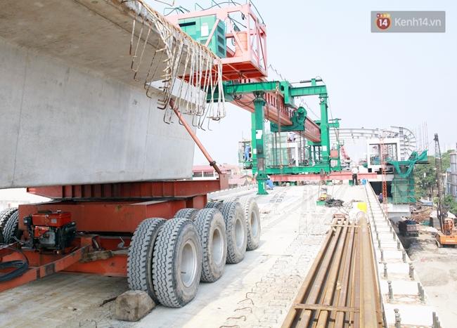 Hợp long toàn tuyến đường sắt trên cao Cát Linh - Hà Đông - Ảnh 5.