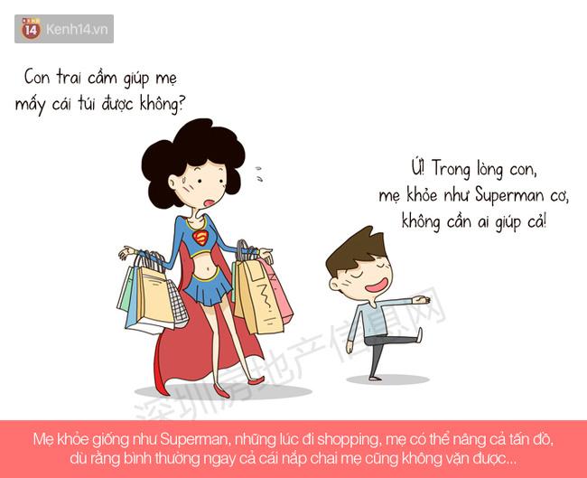 Hóa ra, mẹ chính là siêu anh hùng ở ngay bên cạnh mà con không biết! - ảnh 5