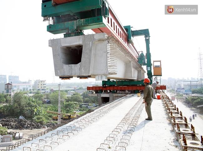 Hợp long toàn tuyến đường sắt trên cao Cát Linh - Hà Đông - Ảnh 6.