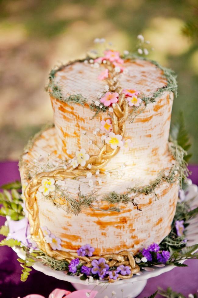 16 chiếc bánh cưới đẹp mắt lấy cảm hứng từ phim hoạt hình Disney - Ảnh 8.