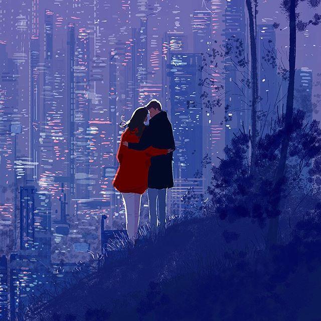 Bộ tranh: Hạnh phúc trong tình yêu bắt đầu từ những gì nhỏ bé nhất - Ảnh 8.