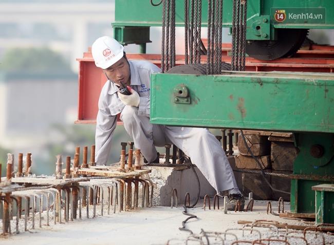 Hợp long toàn tuyến đường sắt trên cao Cát Linh - Hà Đông - Ảnh 8.