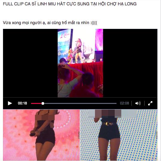 Linh Miu khiến khán giả phát hoảng khi lộ cả đầu ngực lên sân khấu biểu diễn - Ảnh 1.