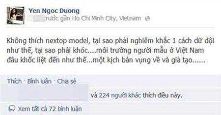 Hà Anh, Xuân Lan, Đỗ Mạnh Cường - Khi bạn cũ quay lưng với Vietnams Next Top Model - Ảnh 6.