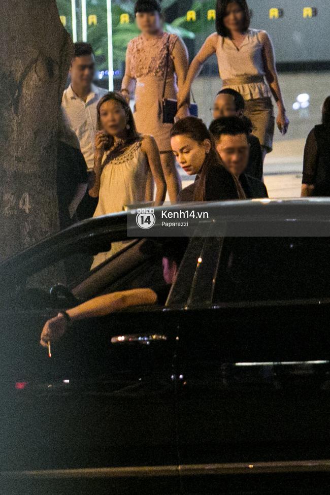 Hồ Ngọc Hà bị bắt gặp lái xe của đại gia Chu Đăng Khoa đi dự sự kiện - Ảnh 13.