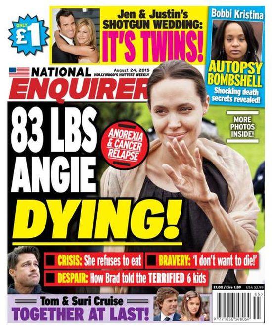 Angelina Jolie giờ đây chỉ còn 34 kg dù cao gần 1m70? - Ảnh 3.
