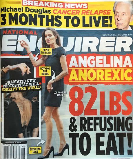 Angelina Jolie giờ đây chỉ còn 34 kg dù cao gần 1m70? - Ảnh 4.