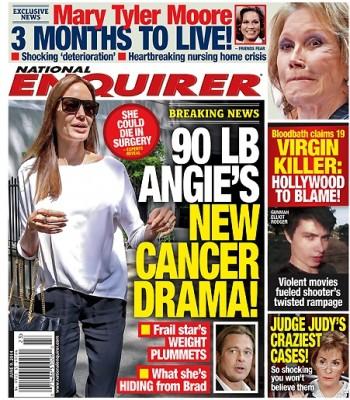 Angelina Jolie giờ đây chỉ còn 34 kg dù cao gần 1m70? - Ảnh 2.