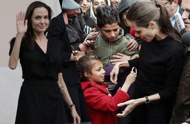 Angelina Jolie giờ đây chỉ còn 34 kg dù cao gần 1m70? - Ảnh 10.