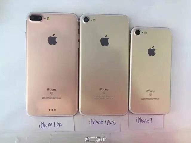 Bộ ba iPhone 7 lần lượt rủ nhau cùng xuất hiện vô cùng rõ nét - Ảnh 2.