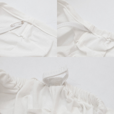Lục áo thun cũ chế lại thành váy hở vai hot trend thôi! - Ảnh 8.