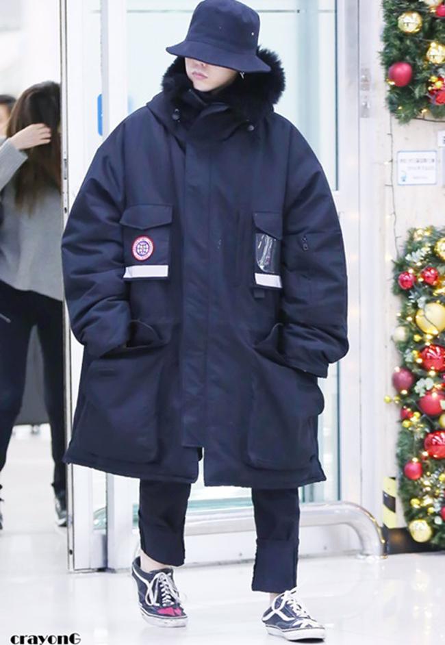 G-Dragon & Rihanna cùng có mùa đông không lạnh với mốt áo phao khổng lồ - Ảnh 1.