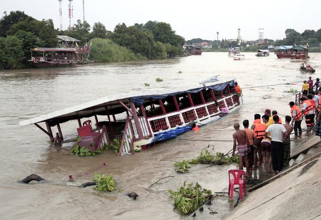 Thái Lan: Lật thuyền ở phía Bắc Bangkok, ít nhất 13 người chết - Ảnh 4.