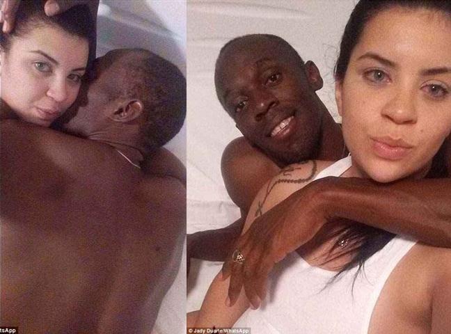 Có bạn gái nóng bỏng, Usain Bolt vẫn tranh thủ lên giường với cô sinh viên Brazil - Ảnh 1.