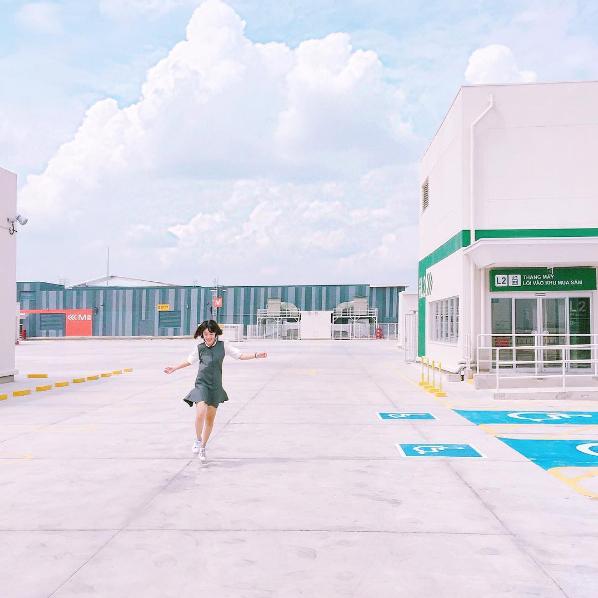 Bãi gửi xe ở Aeon Mall Bình Tân: Địa điểm chụp ảnh mới siêu chất, siêu hot đây rồi! - Ảnh 5.