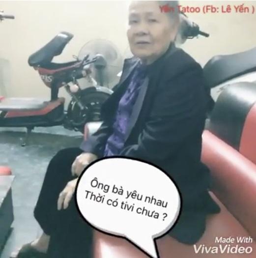 Bà ngoại 90 tuổi thích mê nhạc Sơn Tùng M-TP - Ảnh 2.