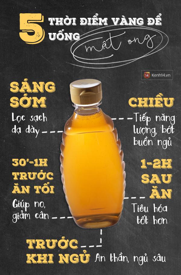 5 thời điểm vàng để uống mật ong giúp bạn khỏe đẹp trông thấy - Ảnh 1.