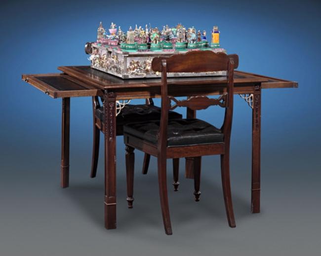 Mục sở thị bàn cờ vua đắt nhất thế giới có giá tận 37 tỷ đồng - Ảnh 8.