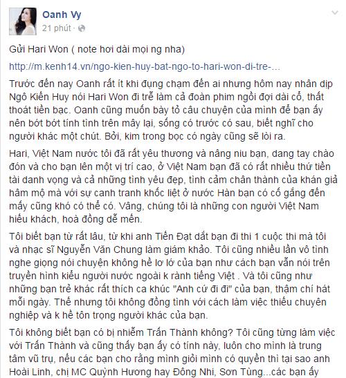 Chỉ trong nửa năm, Hari Won đã trở thành trung tâm thị phi mới của showbiz Việt! - Ảnh 14.