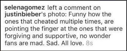 Justin Bieber và Selena Gomez bất ngờ đả kích nhau vì bạn gái mới của Justin - Ảnh 5.
