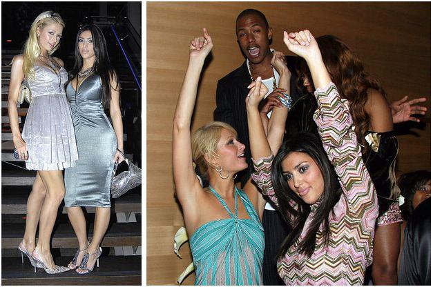 Sau 10 năm, đôi kình địch Kim Kardashian và Paris Hilton đã tái hợp lần đầu tiên - Ảnh 1.
