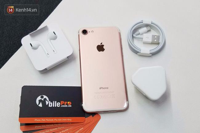 Cận cảnh iPhone 7 bản chính thức đầu tiên tại Việt Nam - Ảnh 19.