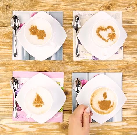 2 bước giản đơn để vẽ được tách cafe như barista chuyên nghiệp tại nhà - Ảnh 5.