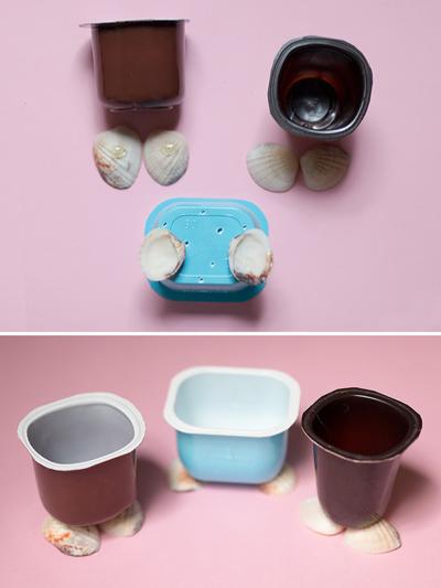 Nhặt vỏ hộp sữa chua làm chậu cây con vật ngộ nghĩnh đáng yêu - Ảnh 5.