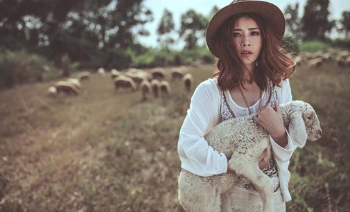 Ở Việt Nam có 3 cánh đồng nuôi cừu, tới đây ảnh có chụp kiểu gì cũng xinh! - Ảnh 10.