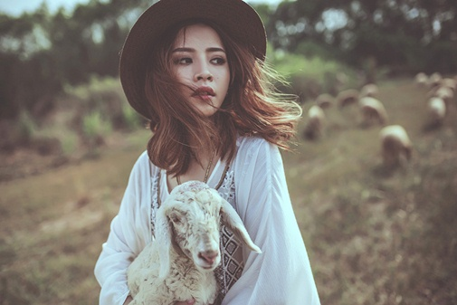 Ở Việt Nam có 3 cánh đồng nuôi cừu, tới đây ảnh có chụp kiểu gì cũng xinh! - Ảnh 12.