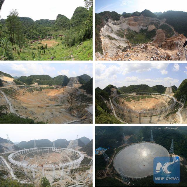 Trung Quốc khánh thành kính viễn vọng săn người ngoài hành tinh lớn nhất thế giới - ảnh 2