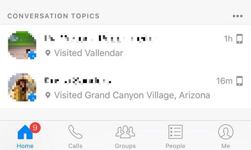 """""""Bí"""" chủ đề trò chuyện? Đừng lo Facebook Messenger sẽ gợi ý cho bạn"""