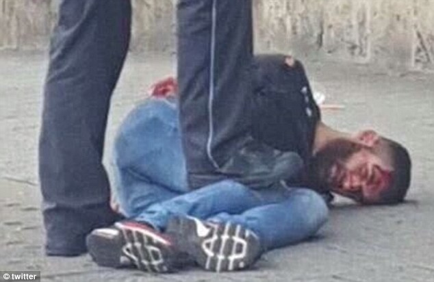 Chân dung thủ phạm giết chết 1 người phụ nữ và khiến 2 người khác bị thương.