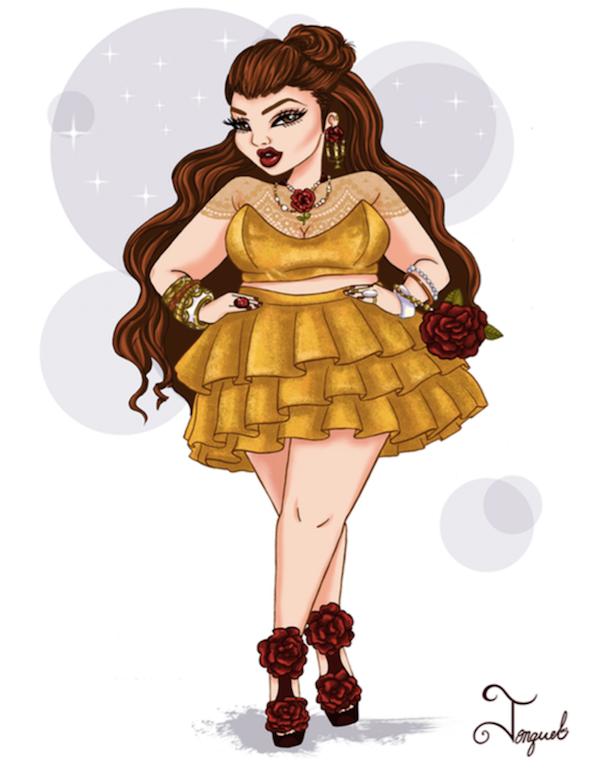 Các nàng công chúa Disney thắm thơm lột xác biến thành fashionista - Ảnh 3.