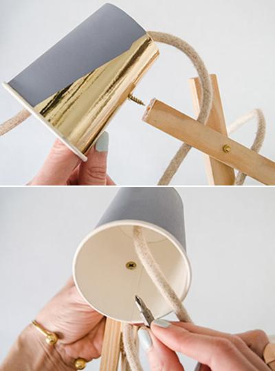 Tự chế đèn bàn chỉ với... cốc giấy - Bạn có muốn thử? - Ảnh 10.