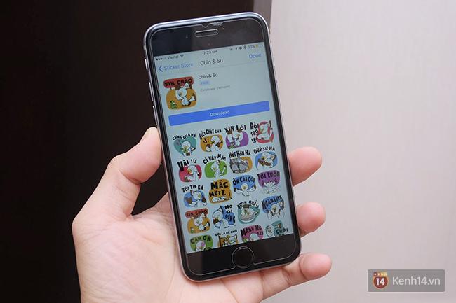 Hết cả hồn với bộ sticker toàn tiếng Việt vừa có trên Facebook - Ảnh 1.