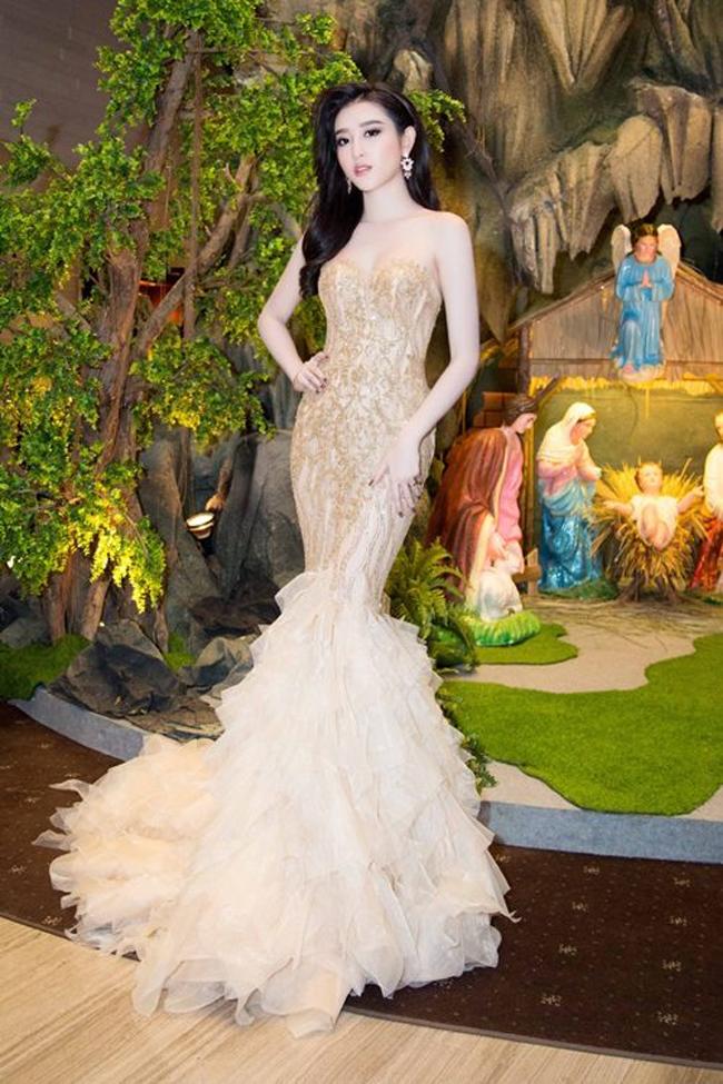 Vừa đăng quang, Hoa hậu Đỗ Mỹ Linh đã bị phát hiện mặc váy na ná Á hậu Huyền My - Ảnh 4.