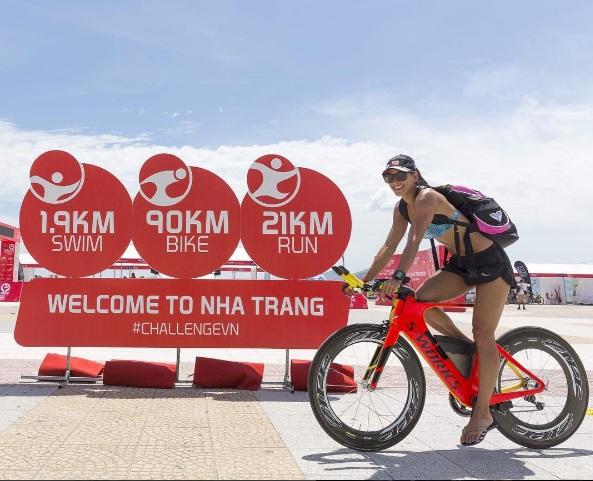 Hoa hậu hoàn vũ Costa Rica gây sửng sốt ở giải 3 môn phối hợp tại Việt Nam - Ảnh 7.