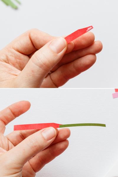 Nhặt nhạnh giấy màu làm bó hoa trang trí hộp quà siêu lãng mạn - Ảnh 5.