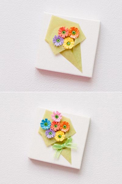 Nhặt nhạnh giấy màu làm bó hoa trang trí hộp quà siêu lãng mạn - Ảnh 9.