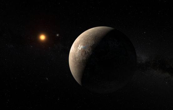 Proxima b được cho là có khối lượng nhỉnh hơn Trái đất một chút.