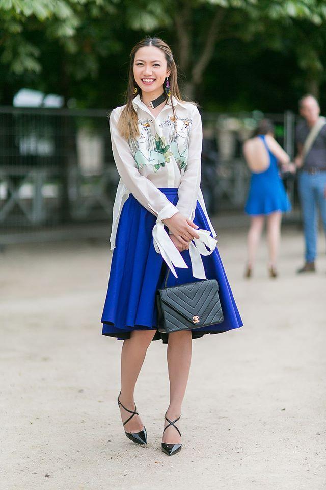 Ngưỡng mộ với cô gái Việt siêu chất, nổi bật ở tuần lễ thời trang Paris - Ảnh 12.