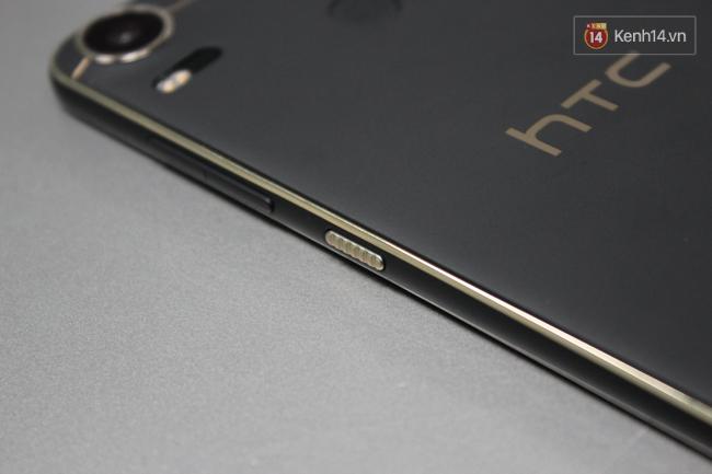 Cận cảnh HTC Desire 10 Pro: Camera chất nhưng... thô - Ảnh 4.