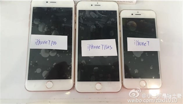 Bộ ba iPhone 7 lần lượt rủ nhau cùng xuất hiện vô cùng rõ nét - Ảnh 1.