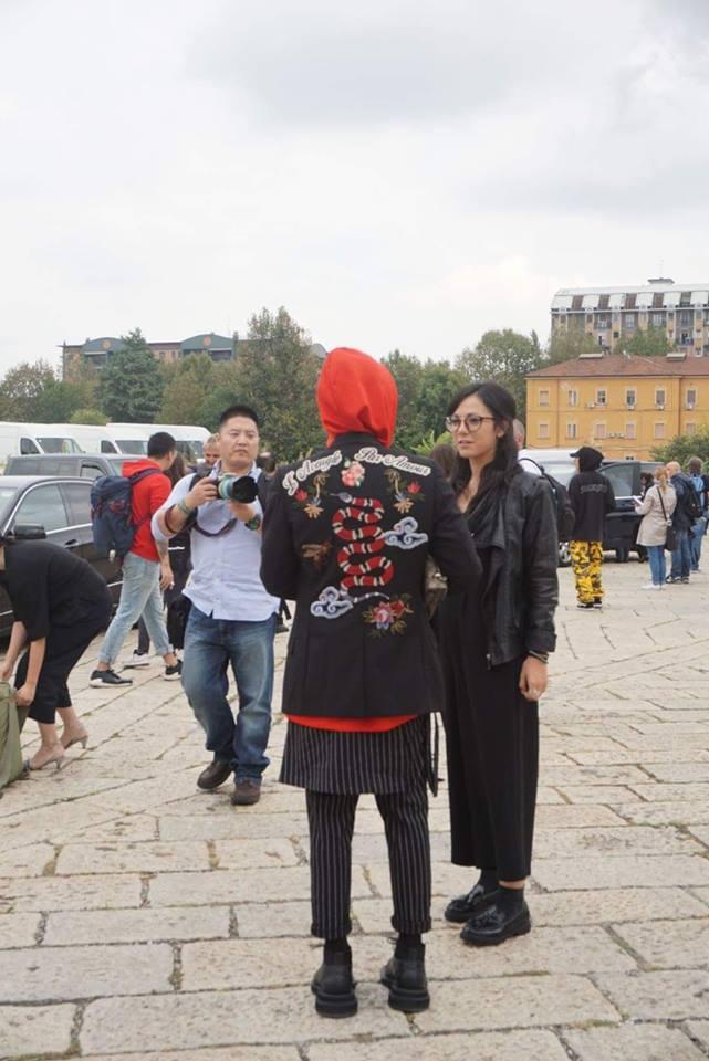 Kelbin Lei phủ đầy hàng hiệu, thẳng tiến dự show tại Milan Fashion Week - Ảnh 4.