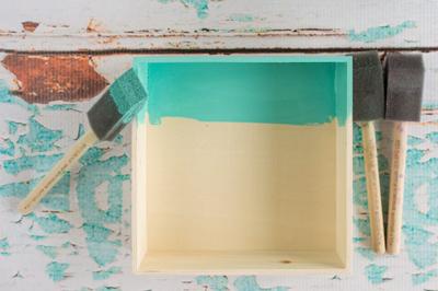 Mang không khí biển về phòng với kệ gỗ vỏ sò cực dễ làm - Ảnh 3.