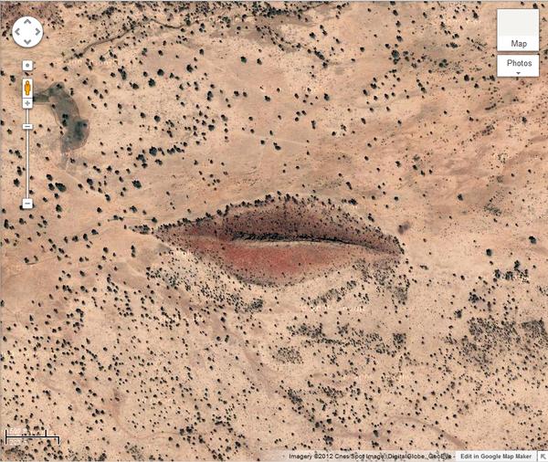 Những hình ảnh kì lạ nhất của Trái đất trên Google Earth - Ảnh 10.
