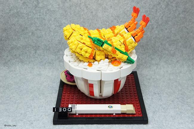 Nghệ sĩ xếp hình khéo léo biến hóa lego thành các món ăn ngon mắt - Ảnh 4.
